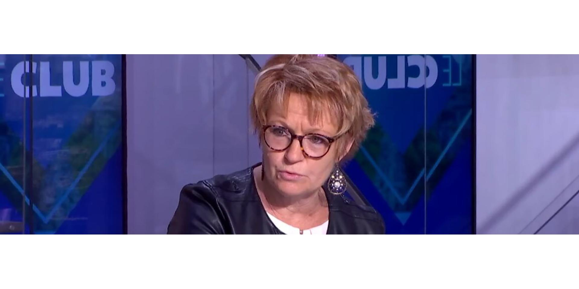 Interview de Pascale Coton sur LCI au sujet des retraites